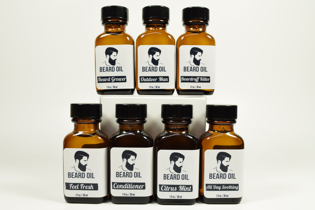 All Day Soothing Beard Oil
