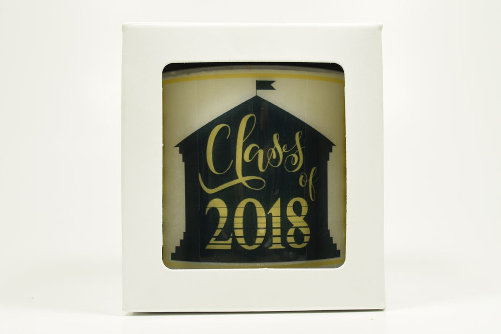 Class of 2018 With Building Soy Candle