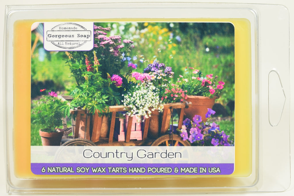 Country Garden Wax Tarts