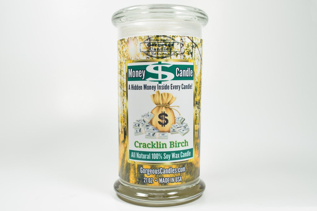 Cracklin Birch Money Candle