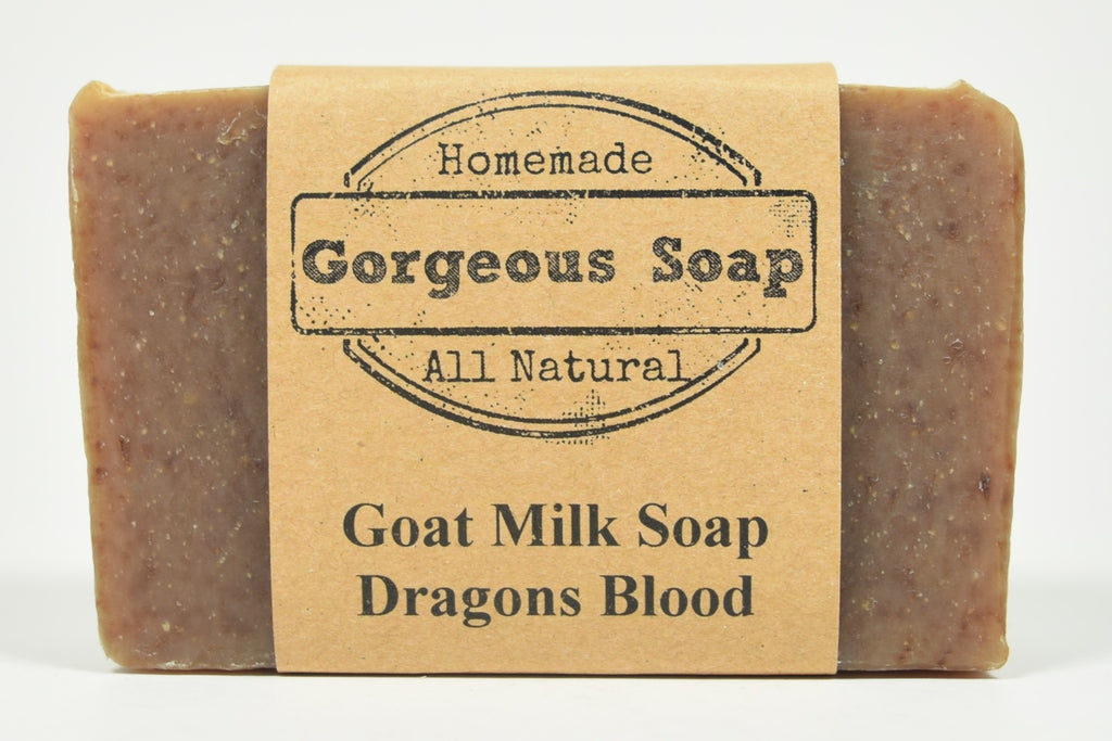 Dragons Blood Goat Milk Soap
