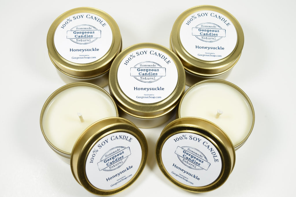 Honeysuckle Natural Soy Candles