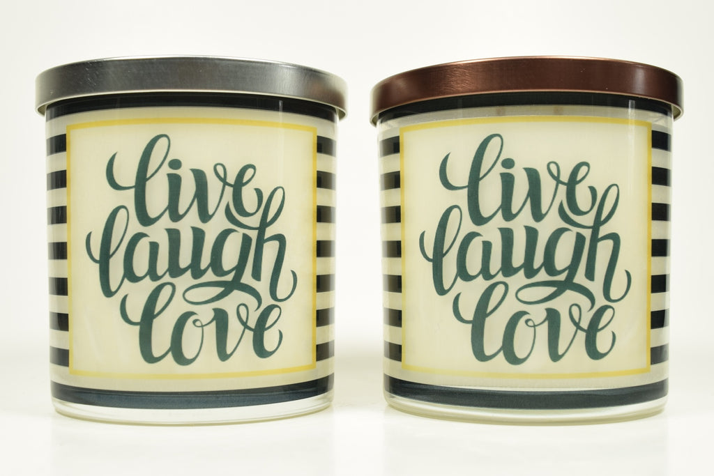 Live Laugh Love Soy Candle