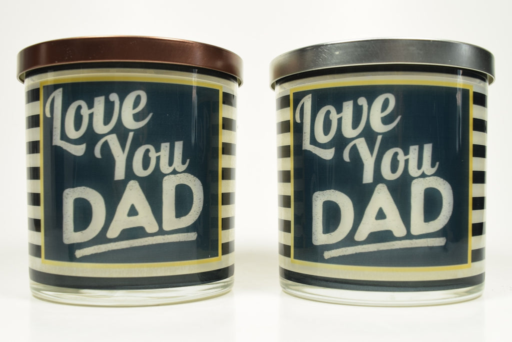 Love You Dad Soy Candle