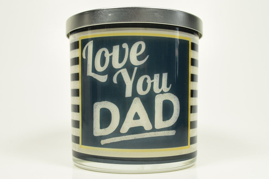 Love You Dad Candle