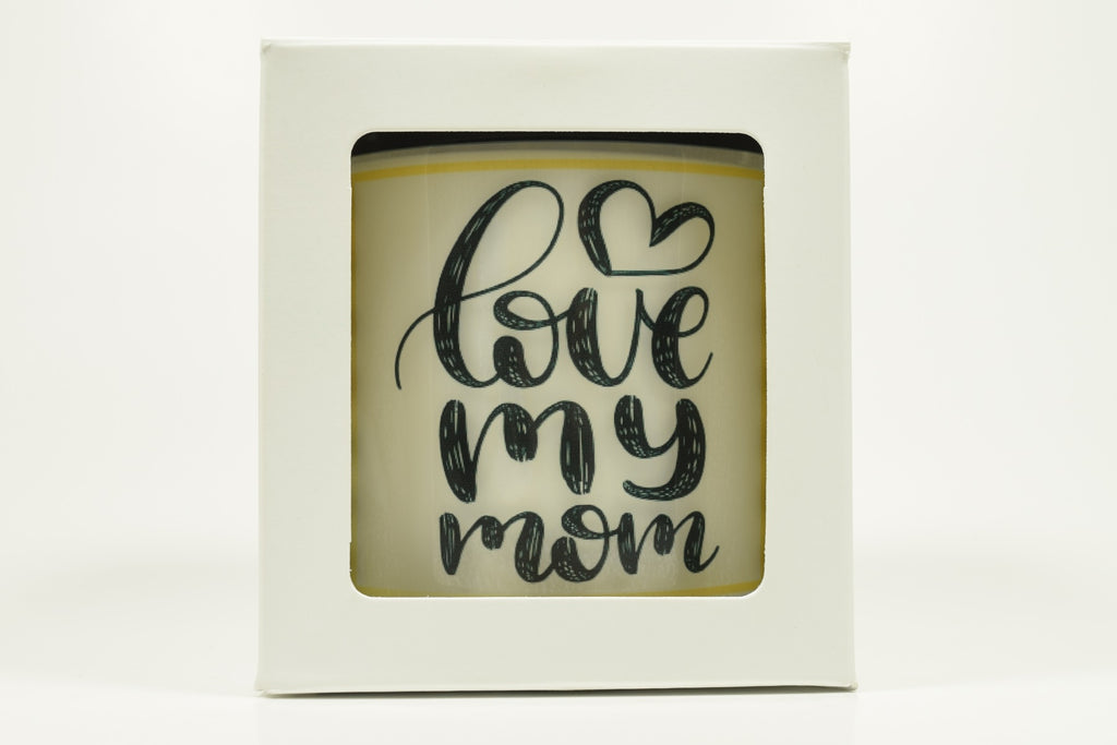 Love My Mom Candle