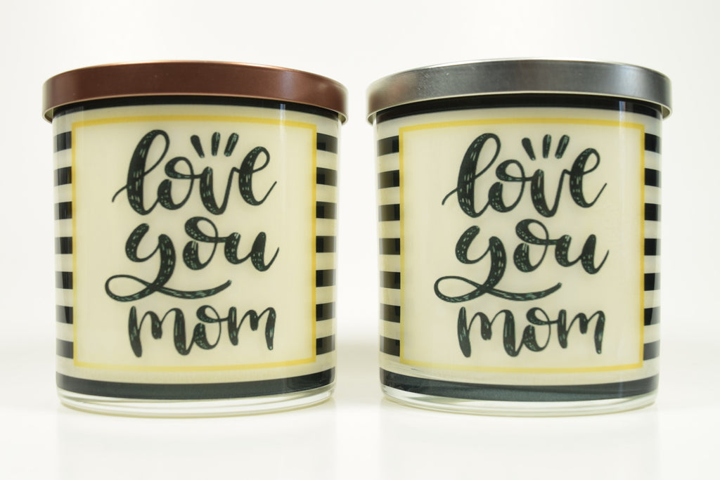 Love You Mom Candle