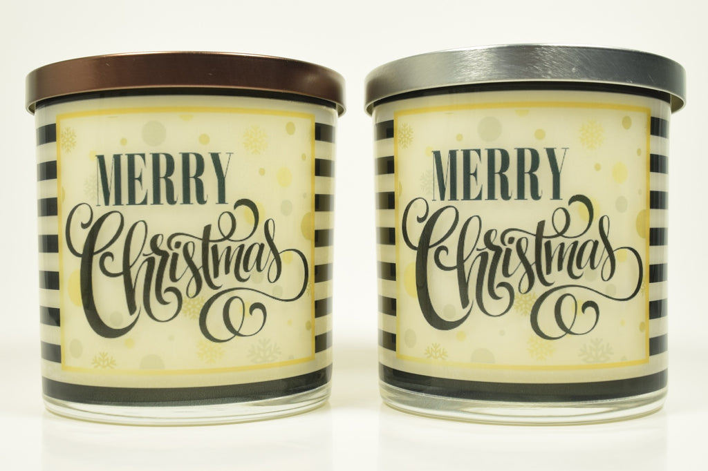 Merry Christmas Soy Candle