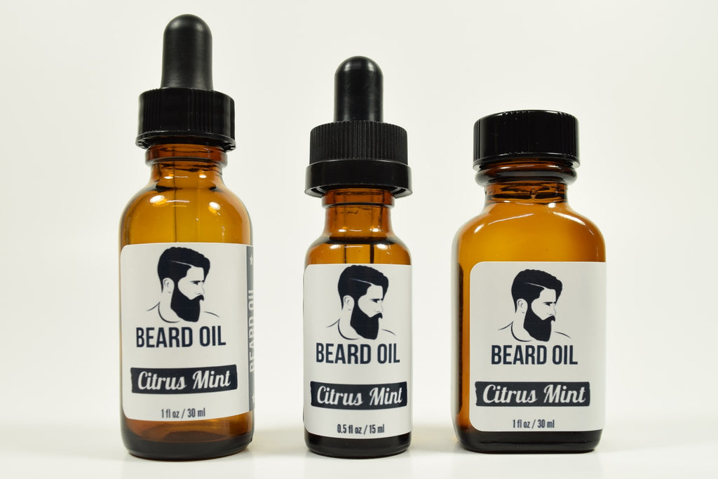 Citrus Mint Beard Oil
