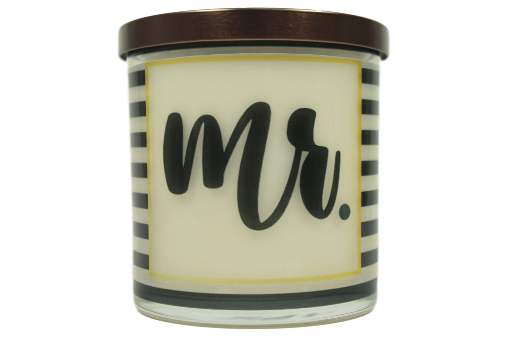 Mr. Soy Candle