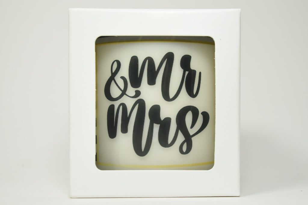 Mr. & Mrs. Soy Candle