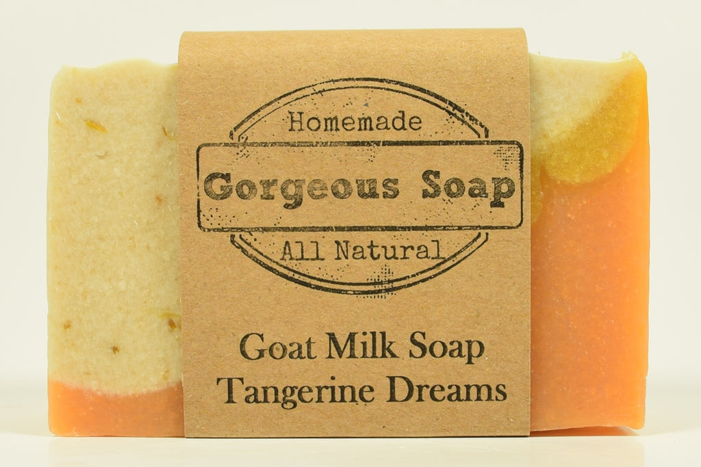 Tangerine Dreams Goat Milk Soap