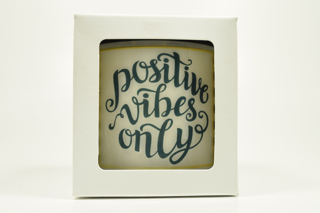 Positive Vibes Only Soy Candle