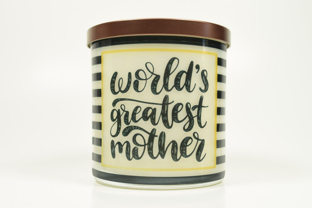 World's Greatest Mother Candle