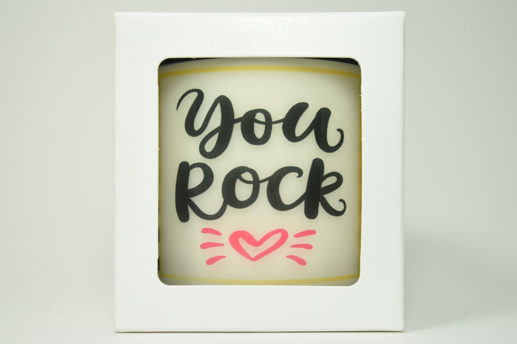 You Rock Soy Candle
