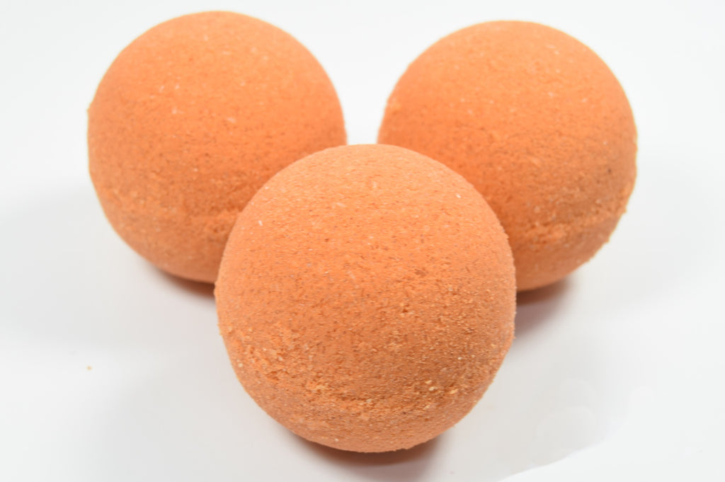 Apricot Bath Bombs with Epsom Salt