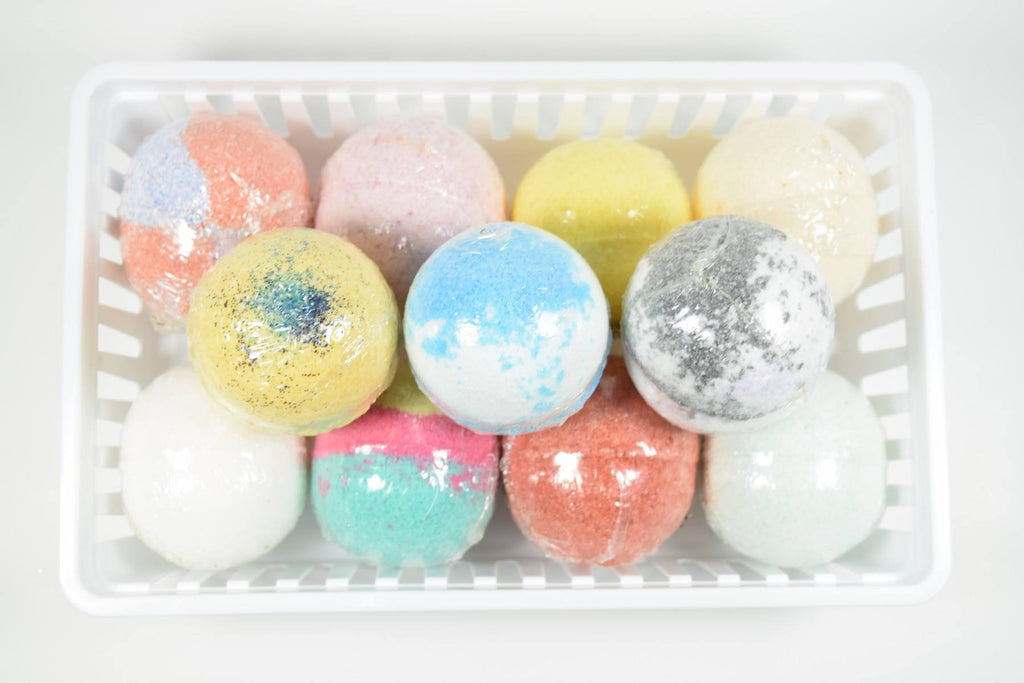 Bath Bombs with Epsom Salts