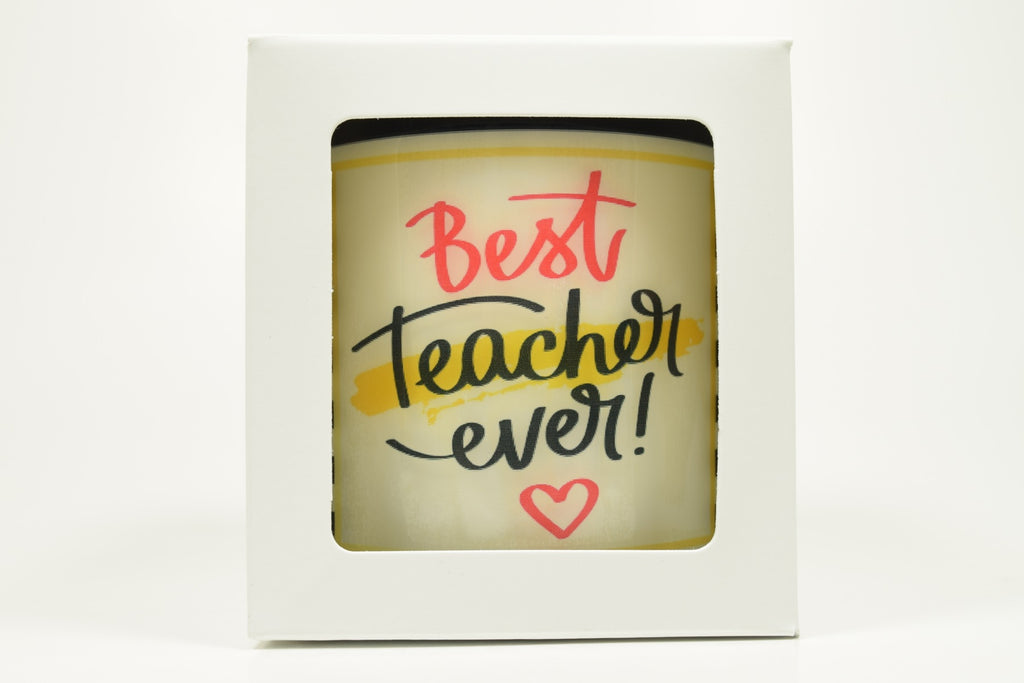 Best Teacher Soy Candle
