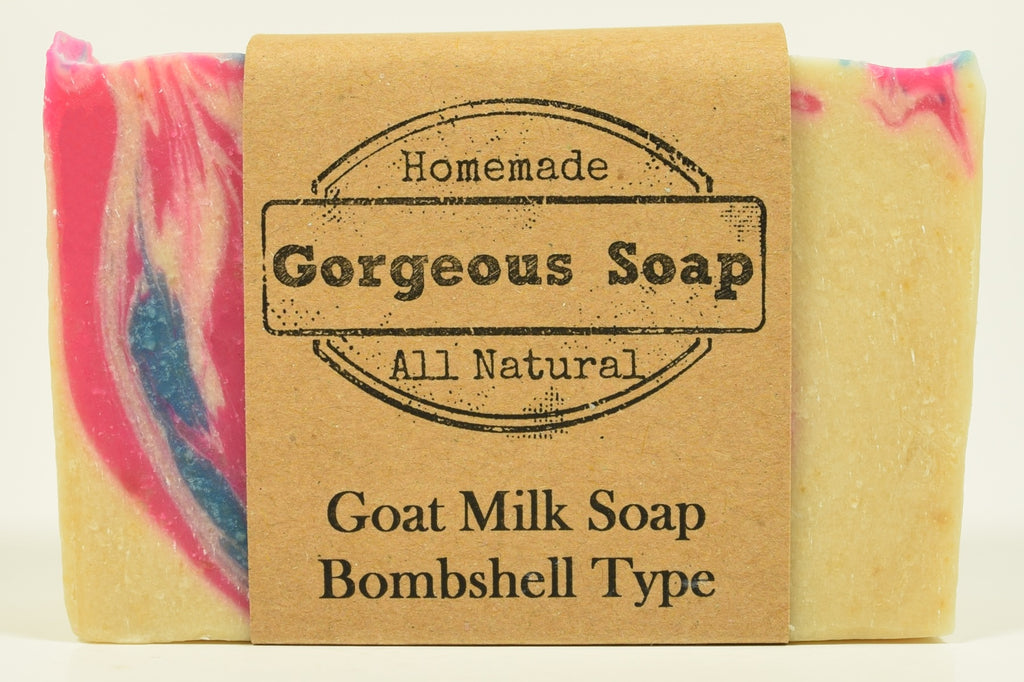 Bombshell Type Goat Milk Soap