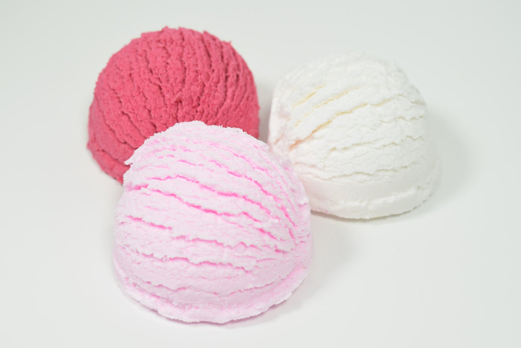 4 Bubble Bath Scoops