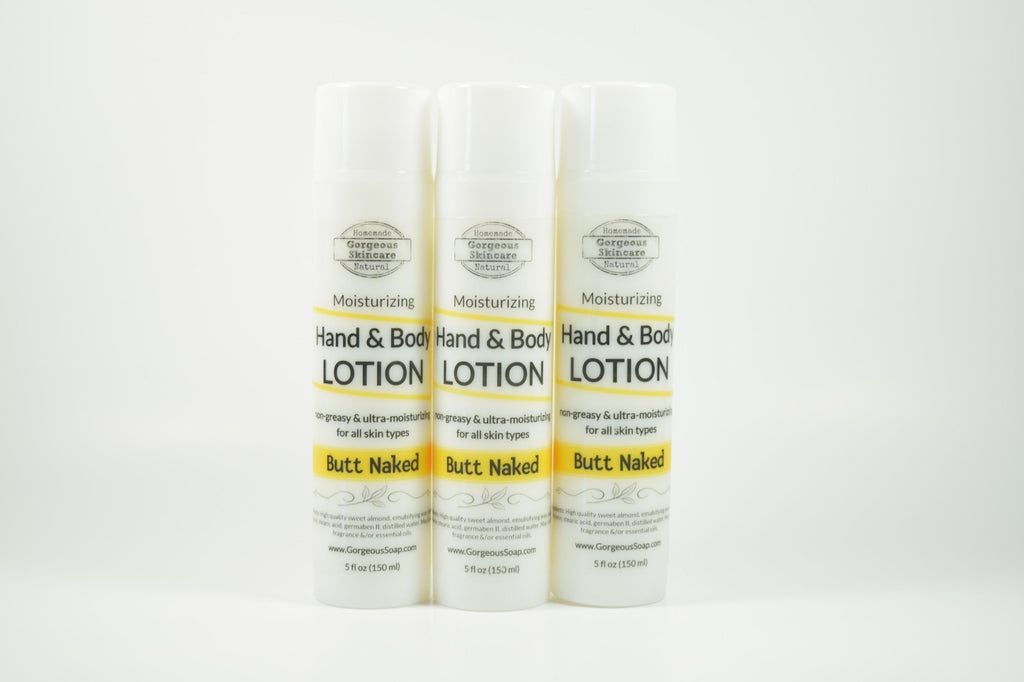 Butt Naked Hand & Body Lotion