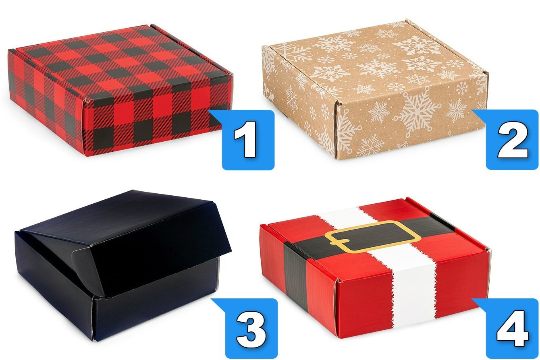 Friend Gift Box With Christmas Box