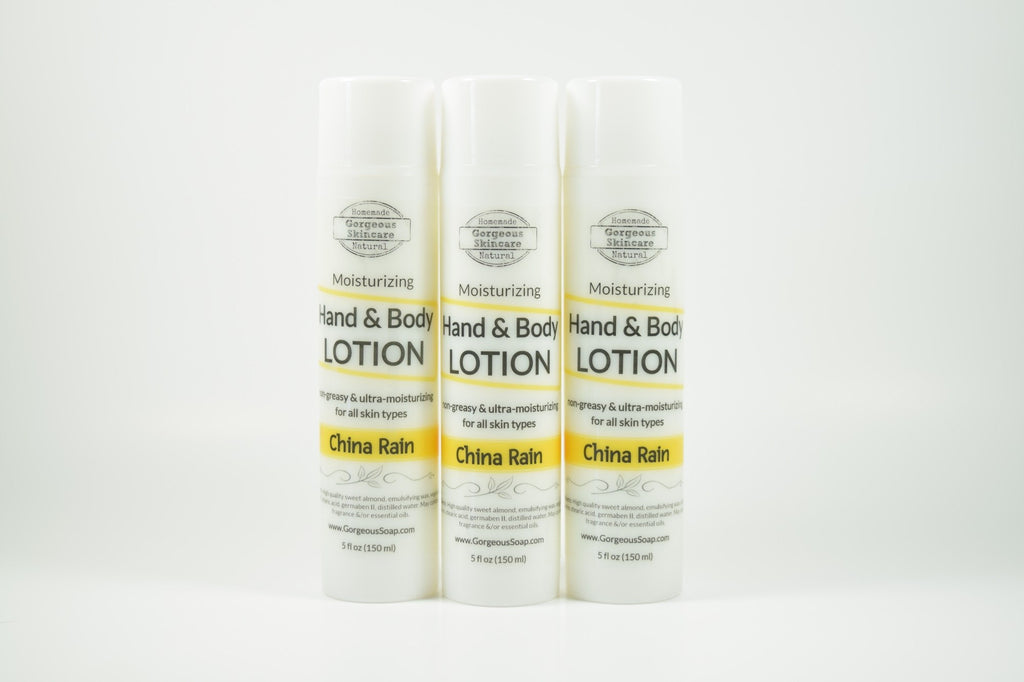 China Rain Hand & Body Lotion