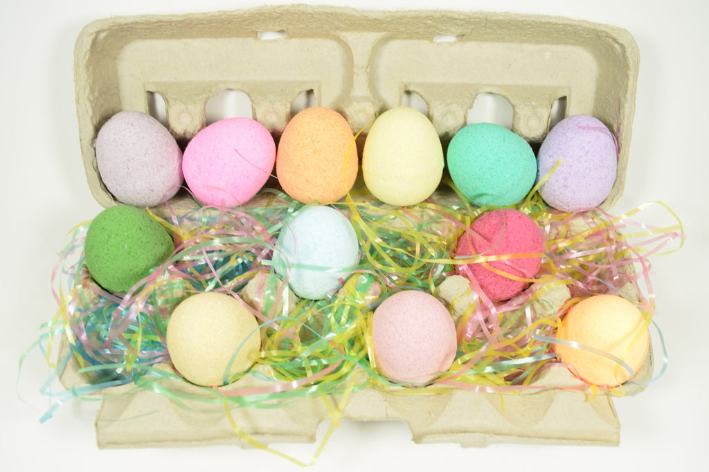 Easter Bath Bombs with Epsom Salts