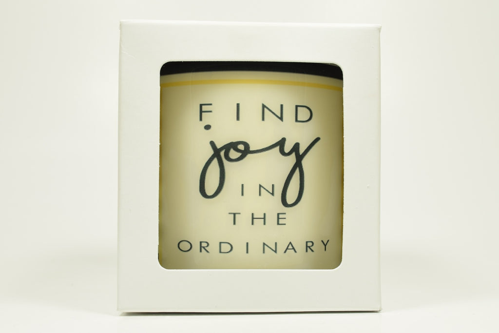 Find Joy In The Ordinary Soy Candle