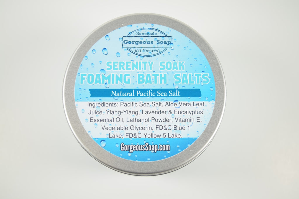 Serenity Soak Foaming Bath Salts