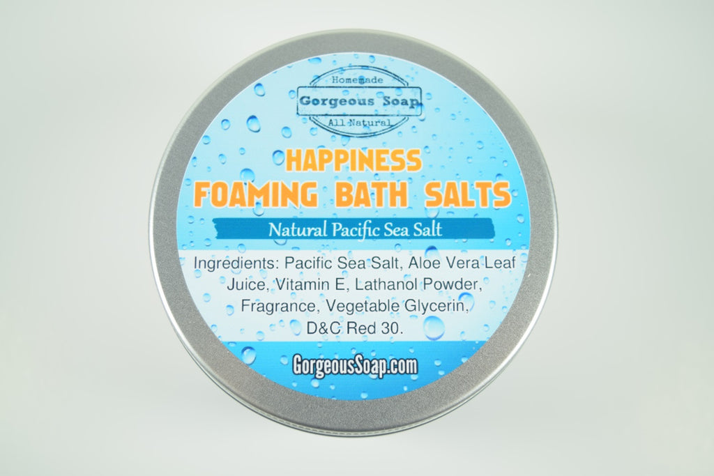 Happiness Foaming Bath Salts