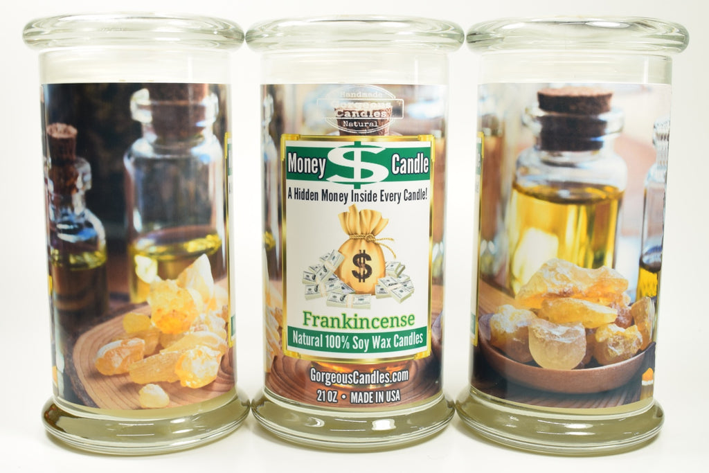 Frankincense Money Candle
