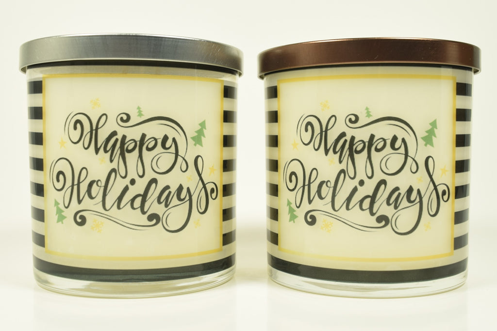 Happy Holidays Soy Candle