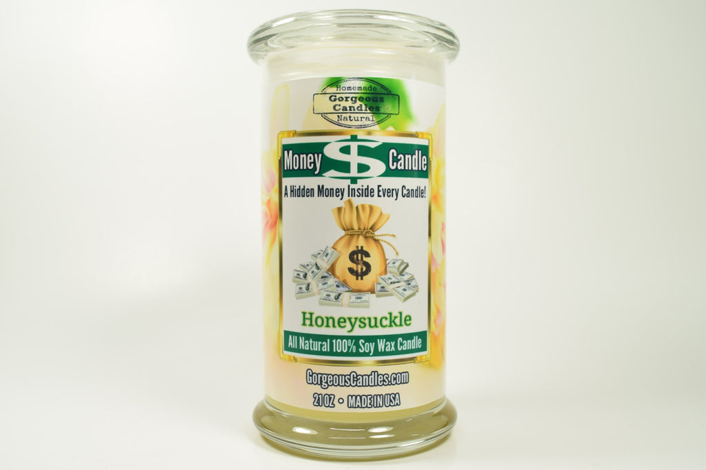 Honeysuckle Money Candle