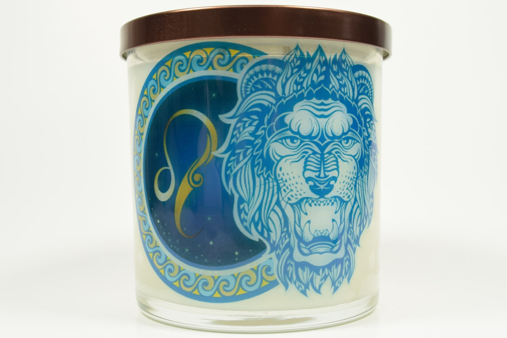 Leo Zodiac Natural Soy Candles