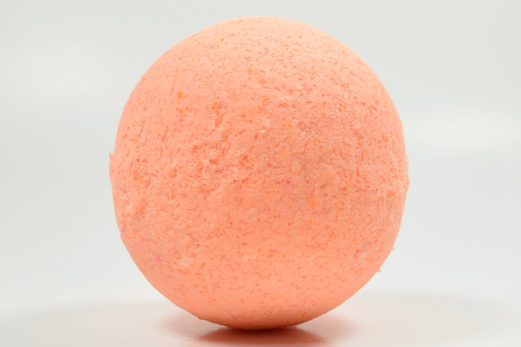 Mystic Orange Moonstone Bath Bomb with Epsom Salt