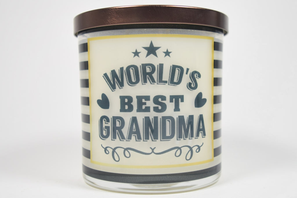 World's Best Grandma Soy Candle