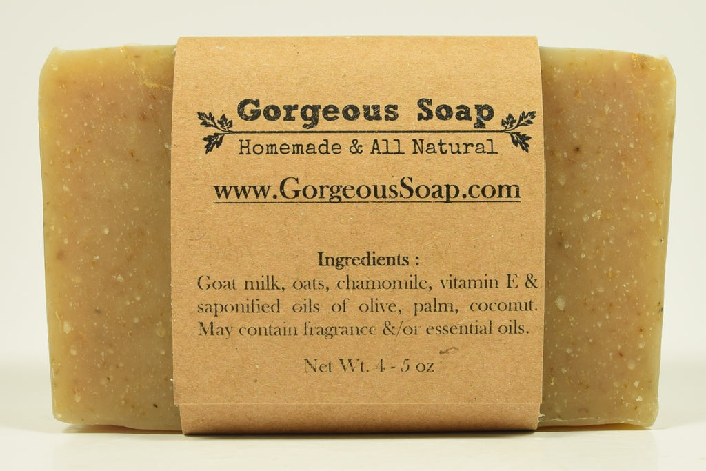 Oats & Chamomile Goat Milk Soap
