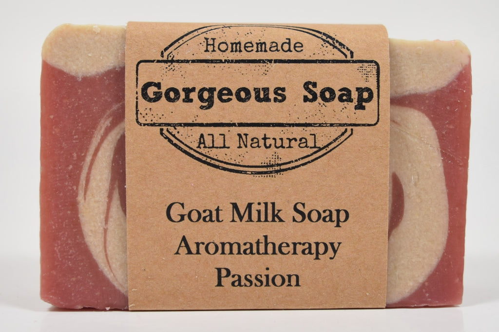 Aromatherapy: Passion Goat Milk Soap