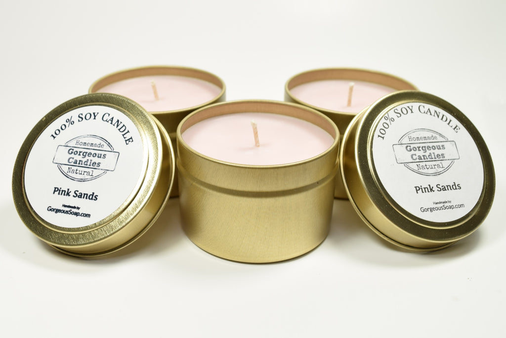 Pink Sands Natural Soy Candles
