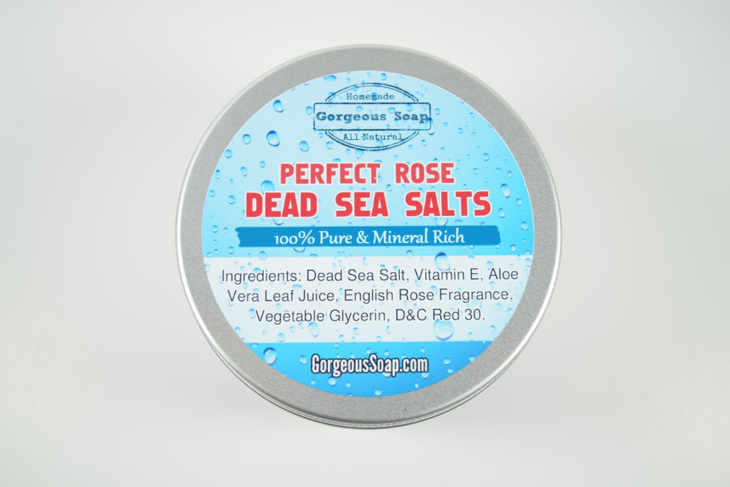 Rose Dead Sea Salts