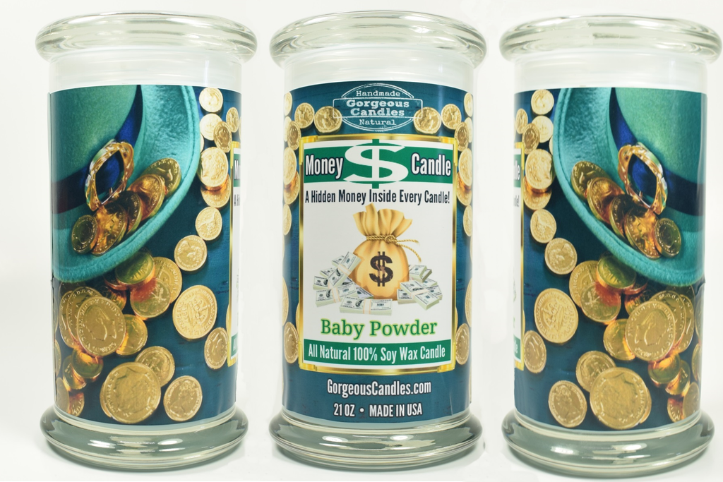 St. Patrick's Day Money Candle
