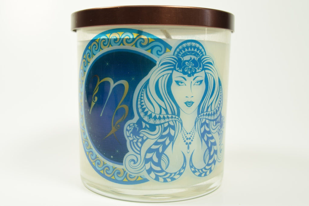 Virgo Zodiac Natural Soy Candles