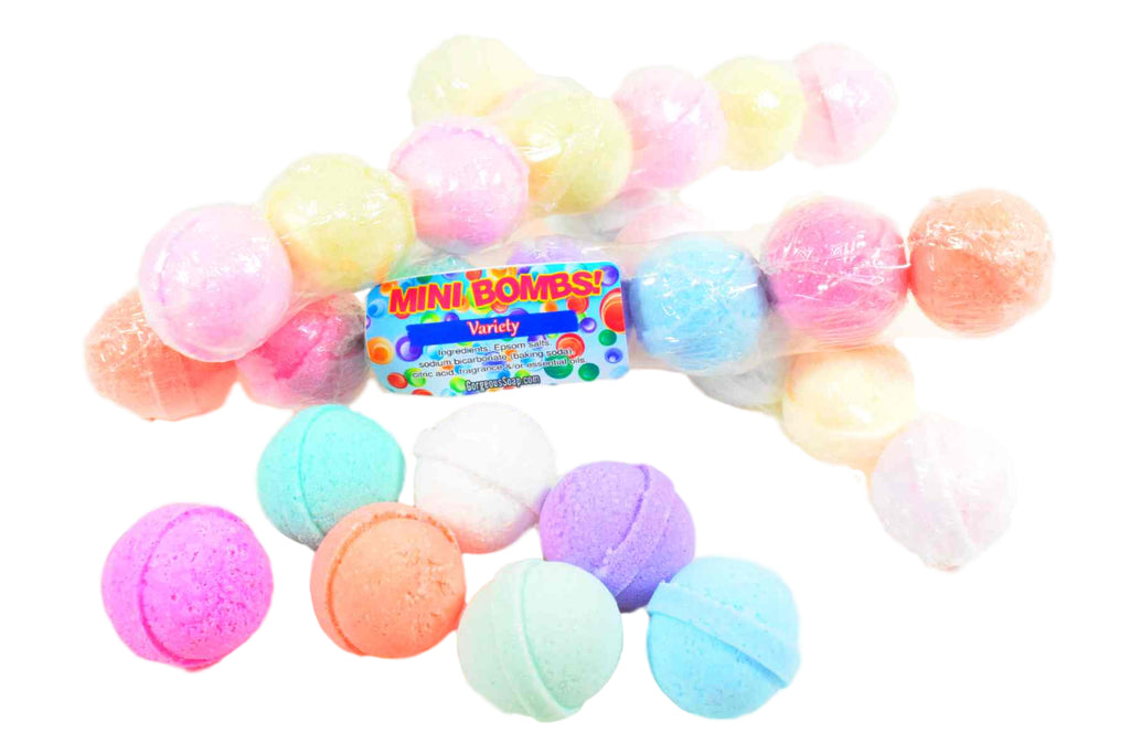7-Mini Bath Bombs