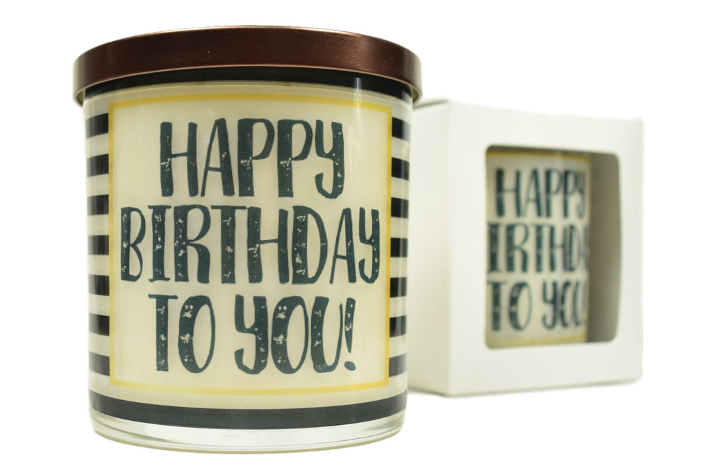 Happy Birthday To You Soy Candle