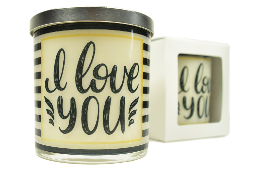 I Love You Soy Candle