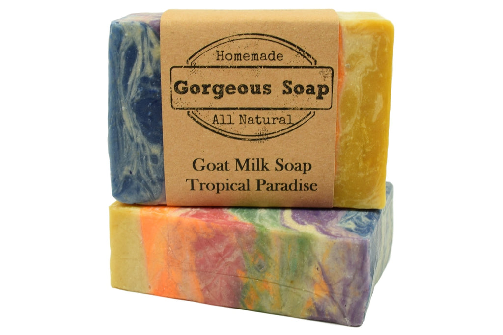 Tropical Paradise Goat Milk Soap