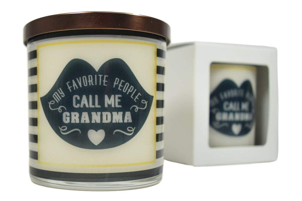 My Favorite People Call Me Grandma Soy Candle
