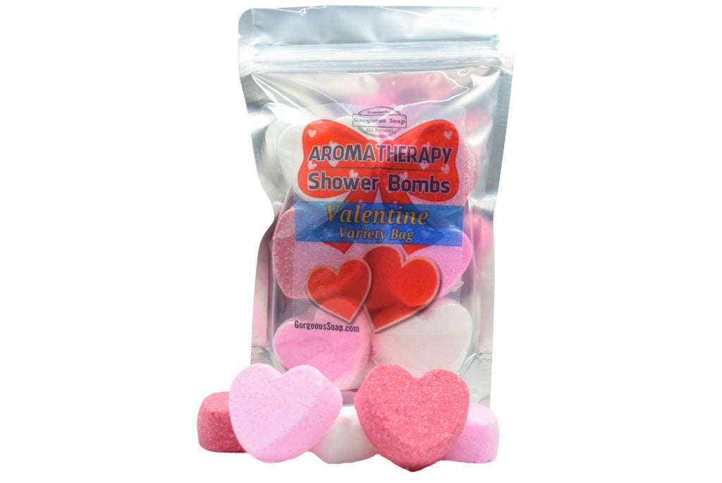 Valentine's Day Shower Bombs