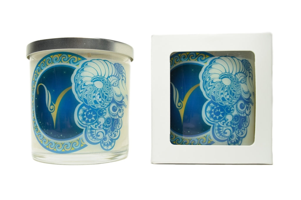 Aries Zodiac Natural Soy Candles